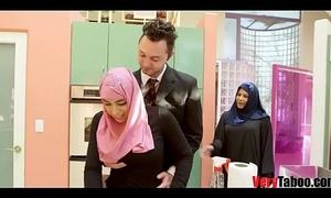 GIRL Forth HIJAB rides her stepdad- DUBAI STORIES