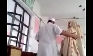 Desi principal fuck teacher in class room MMS paki aged