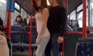 Porn personage bonnie shai gropped adjacent to the motor coach unorthodox