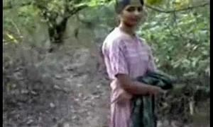 Indian girl bonking everywhere forest